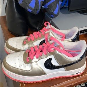 Multicolored girly air forces